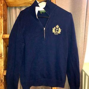 Women's Ralph Lauren Navy Sweater